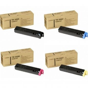 Kyocera TK-500 VALUEPACK Refurbished Toner Cartridges